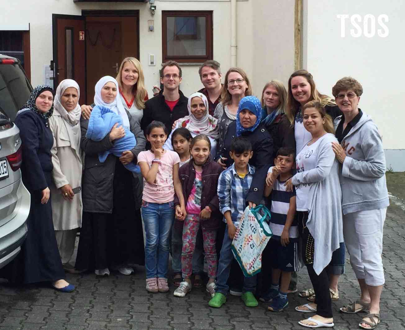Beginnings Team With Refugees
