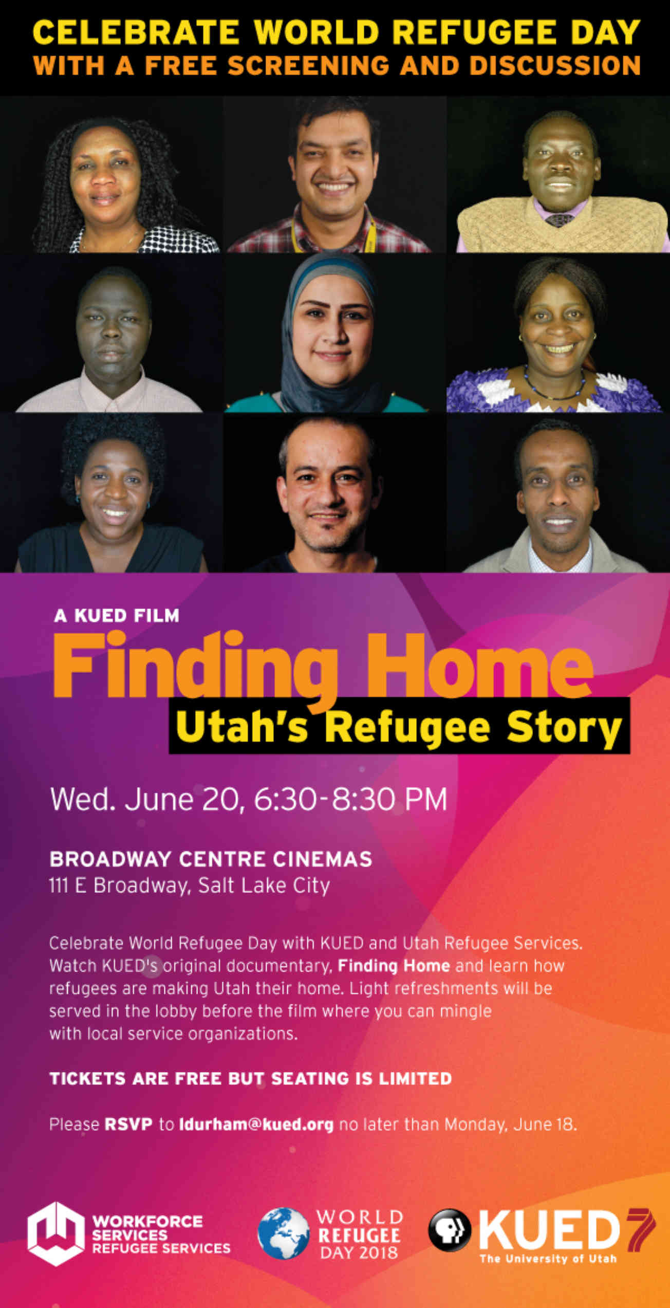 Finding Home Screening Invite