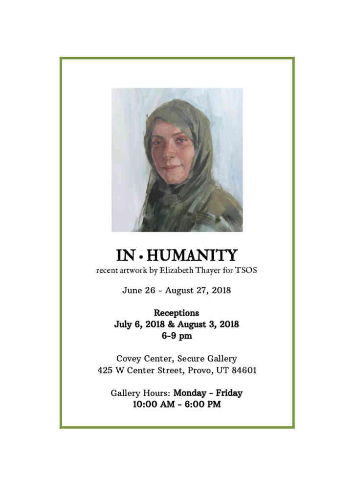 In•humanity Flier