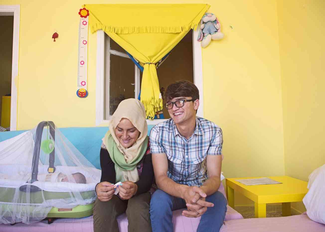 Ahmad and his wife 2