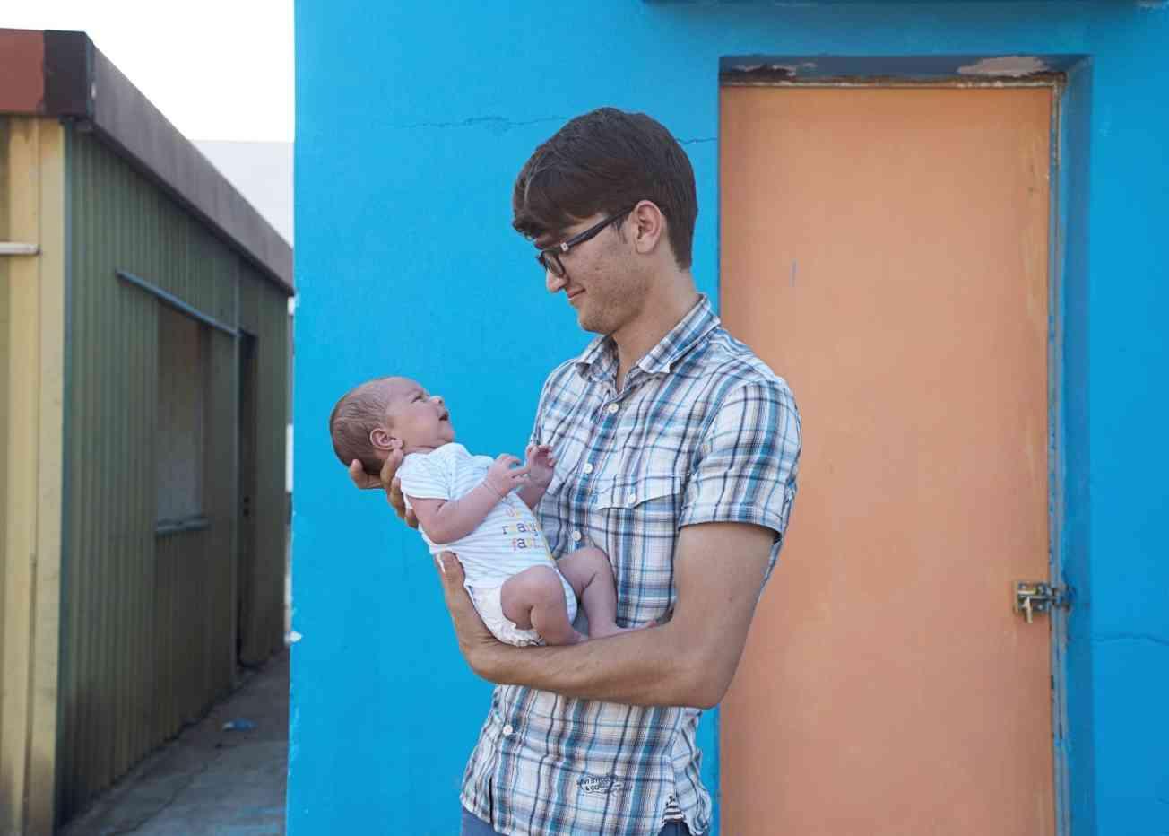 Ahmad and his child 1