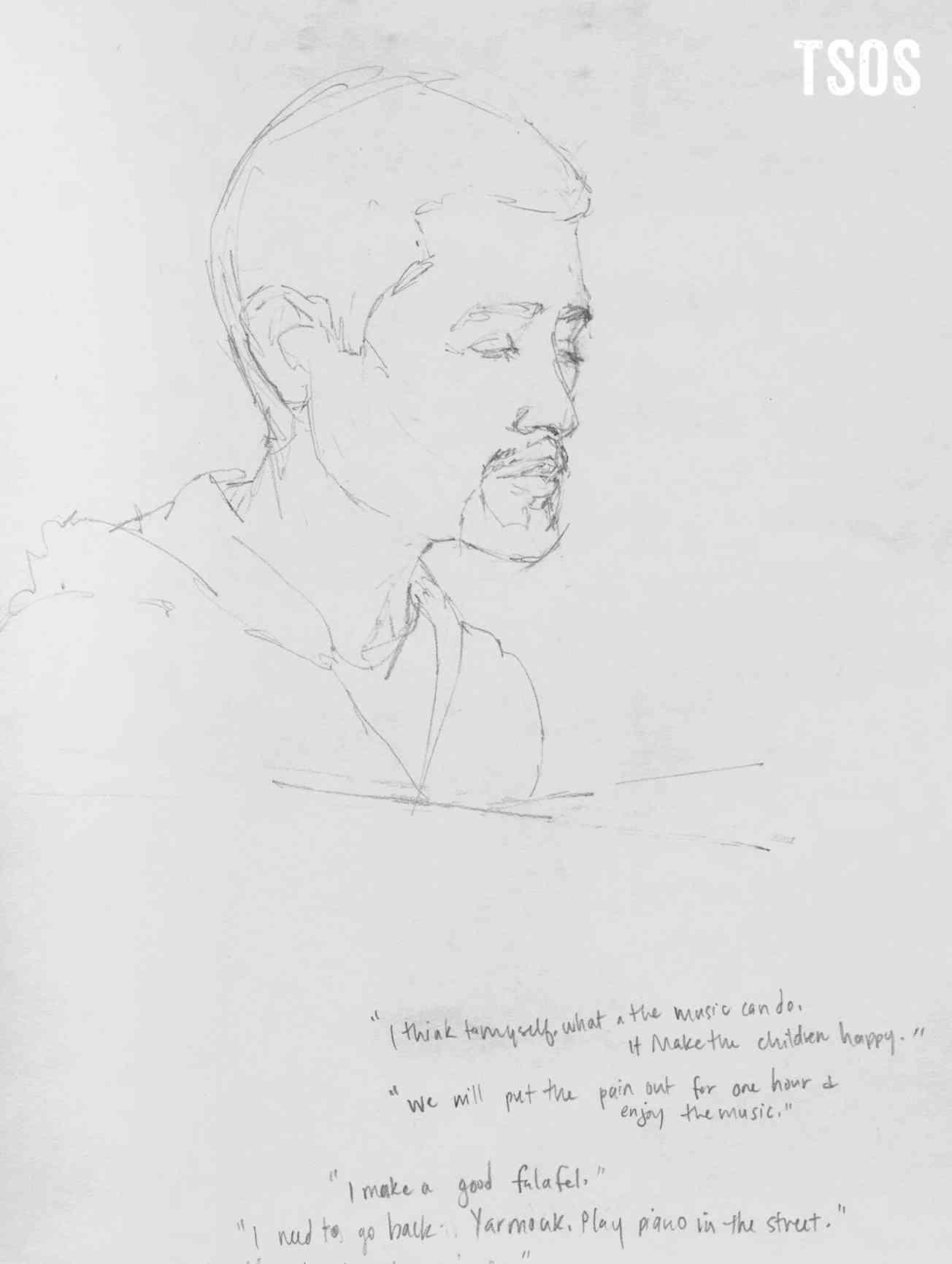 Aeham Sketch Words