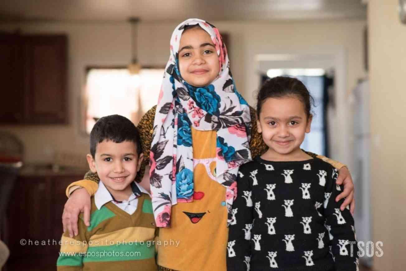 Tiba and her siblings
