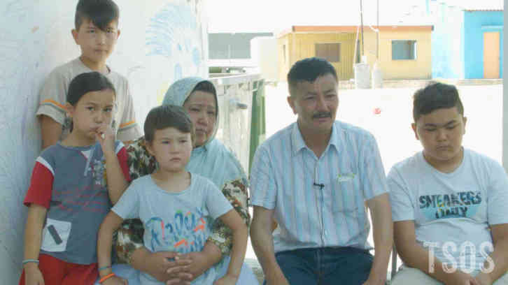 Tabish With His Family