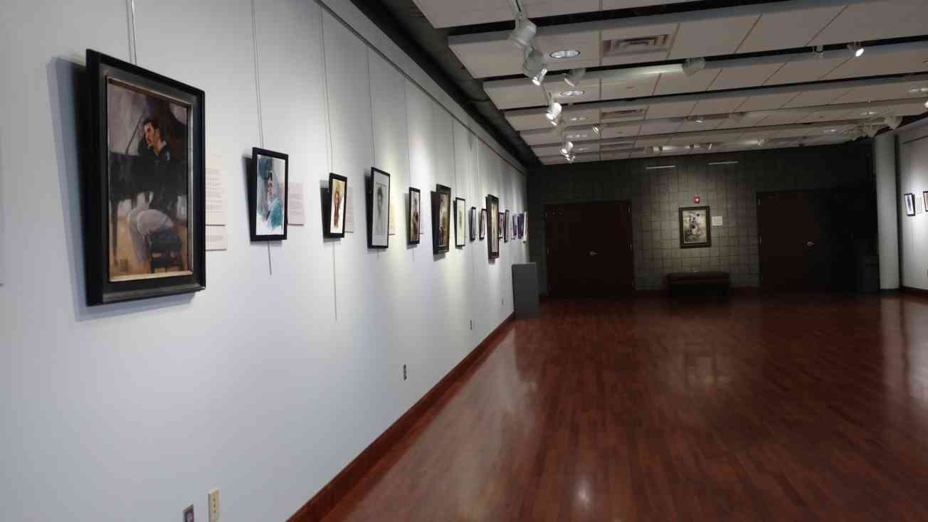 Cover Center Art Exhibit With Liz Thayer