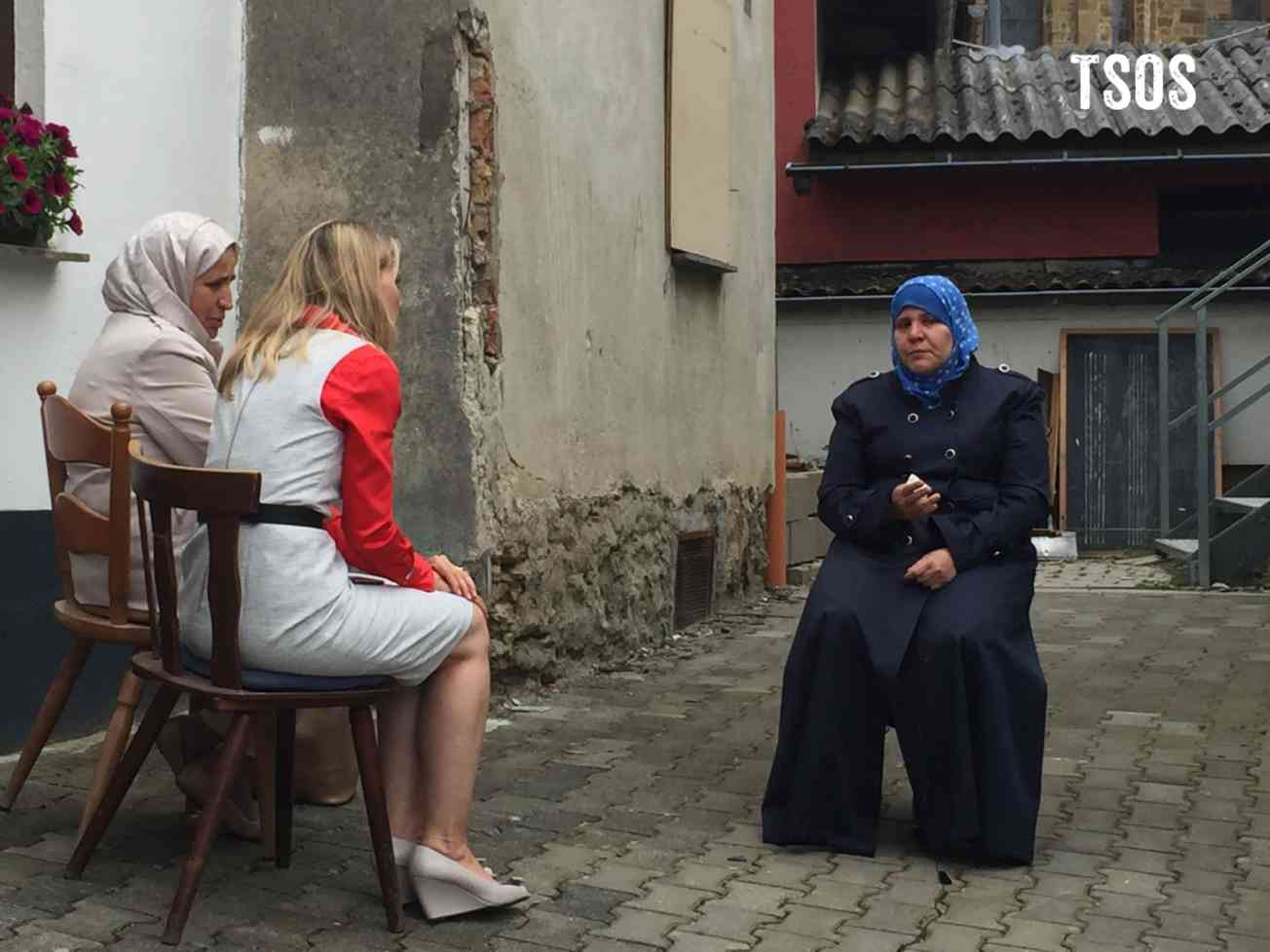 Greece Melissa Interviewing