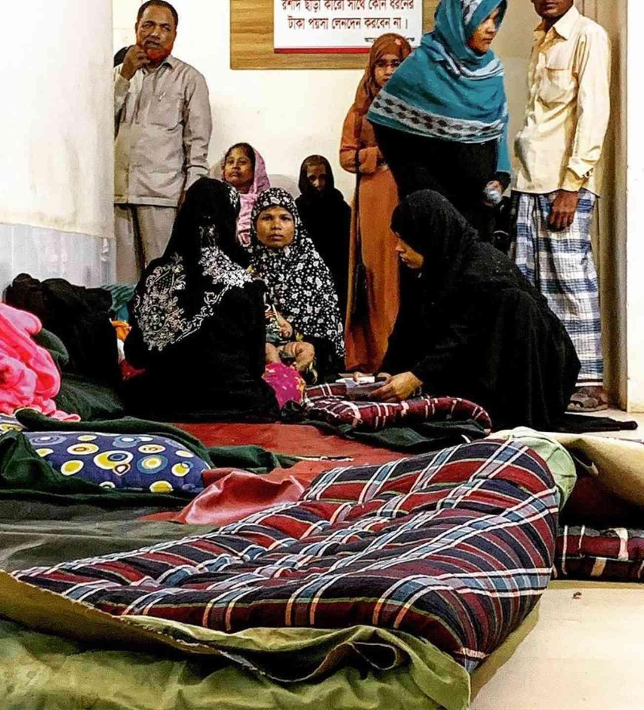 Hope Hospital Waiting Room Bangladesh