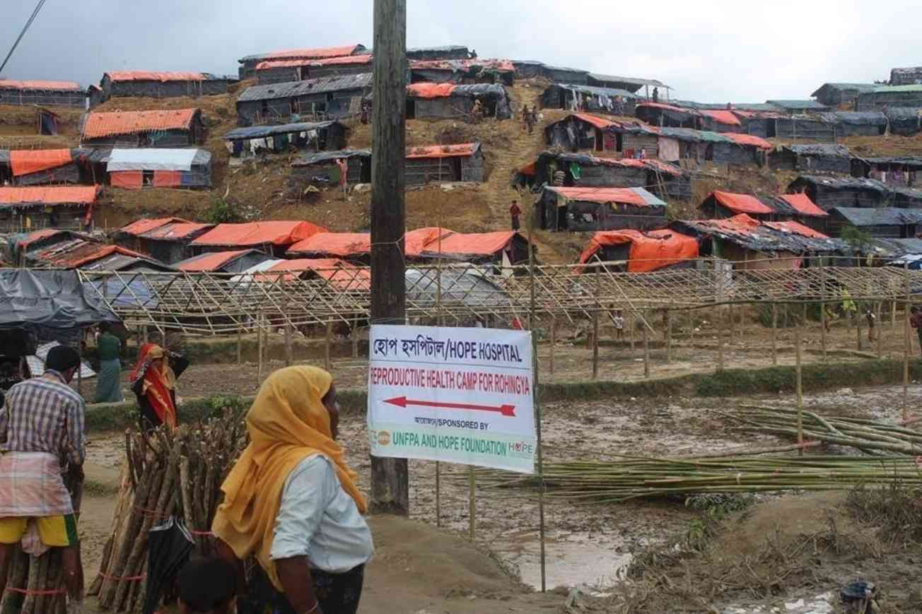 Reproductive Health Camp For Rohingya 2