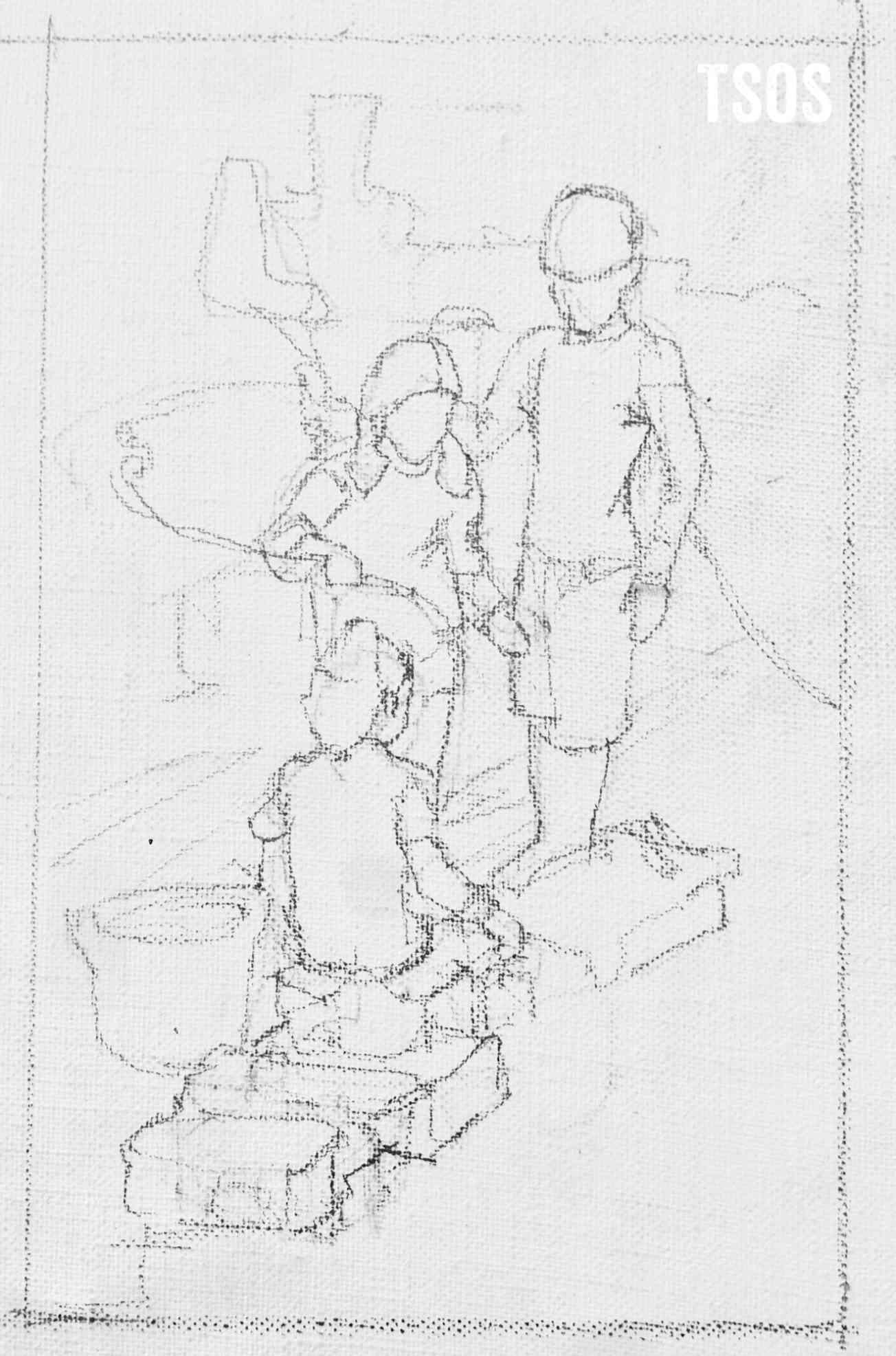 Running Water Sketch Wm