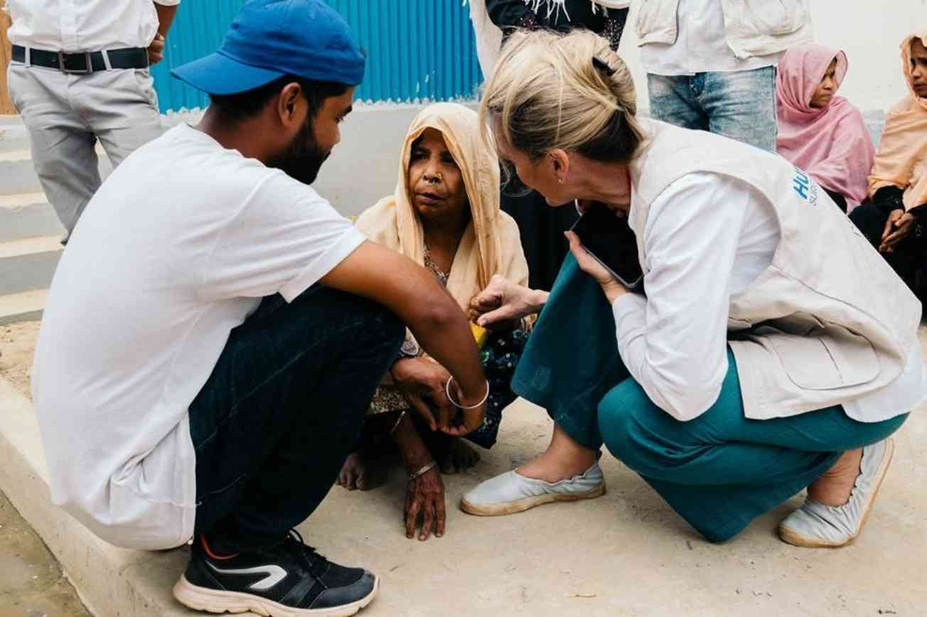 Their Story Is Our Storys Melissa Dalton Bradford Speaking To One Of The Thousands Of Rohingya Women Whose Children Were Killed By Myanmar Military