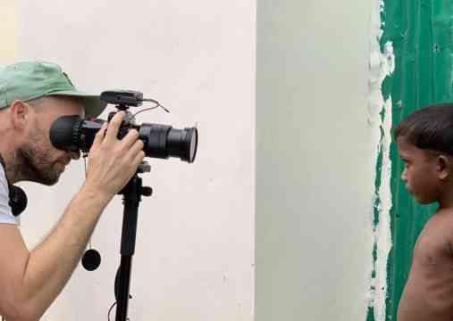 Their Story Is Our Story Volunteer Videographer Christian Suhr Films A Rohingya Child In Bangladesh