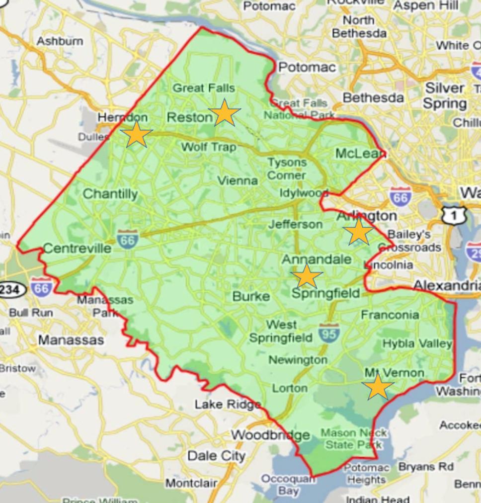Fairfax County, VA Opp Neighborhoods 2020