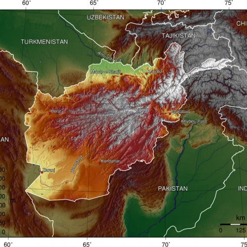 Afghan topo en