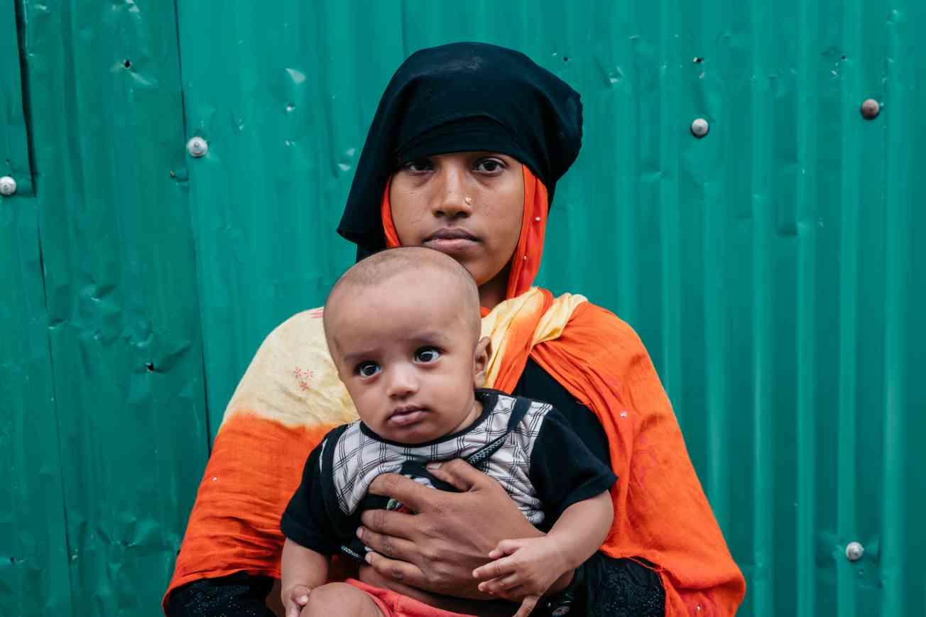 2019 BANGLADESH Portrait of Rohingya Refugee Christophe Mortier 13