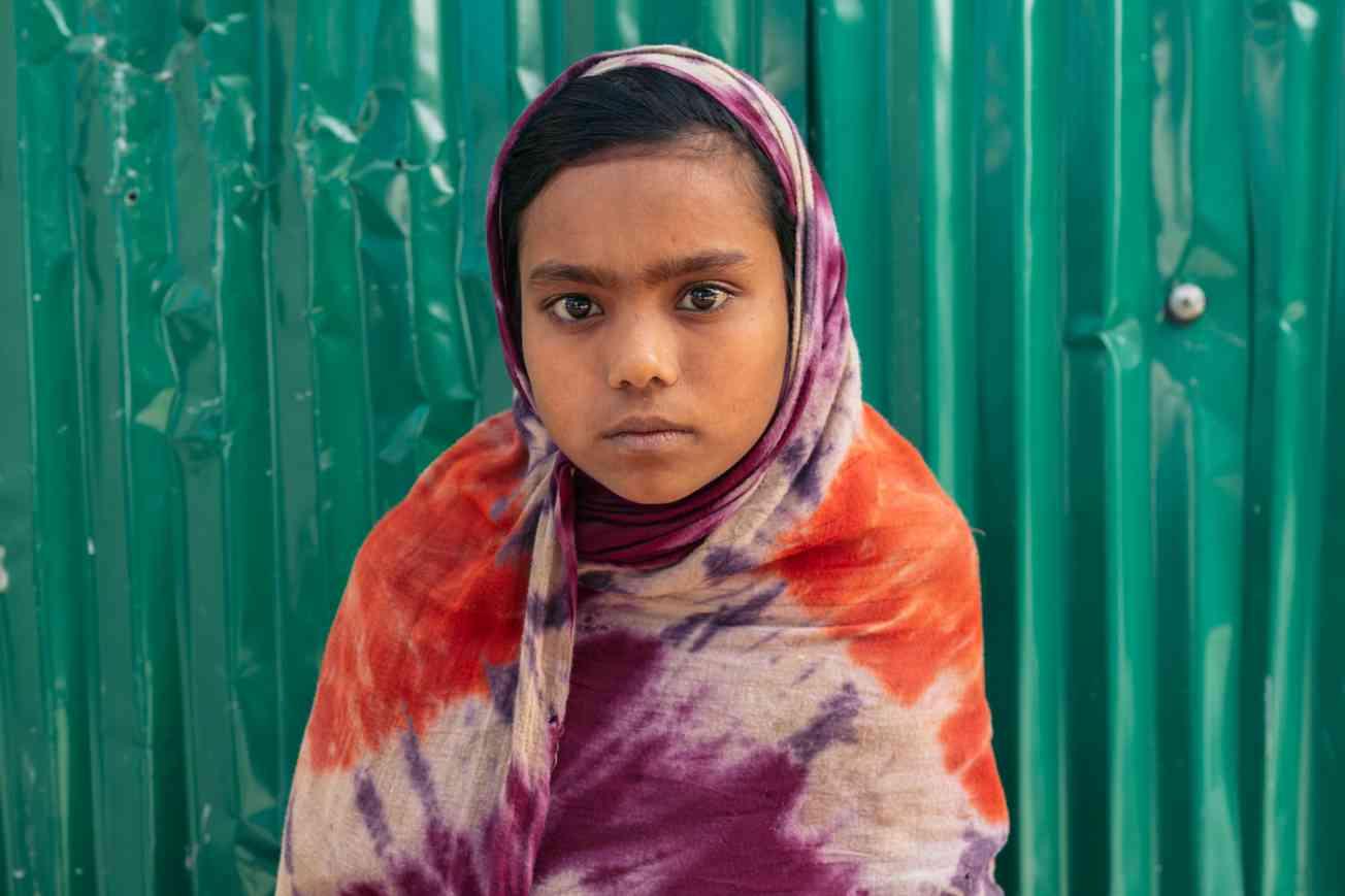 2019 BANGLADESH Portrait of Rohingya Refugee Christophe Mortier 19