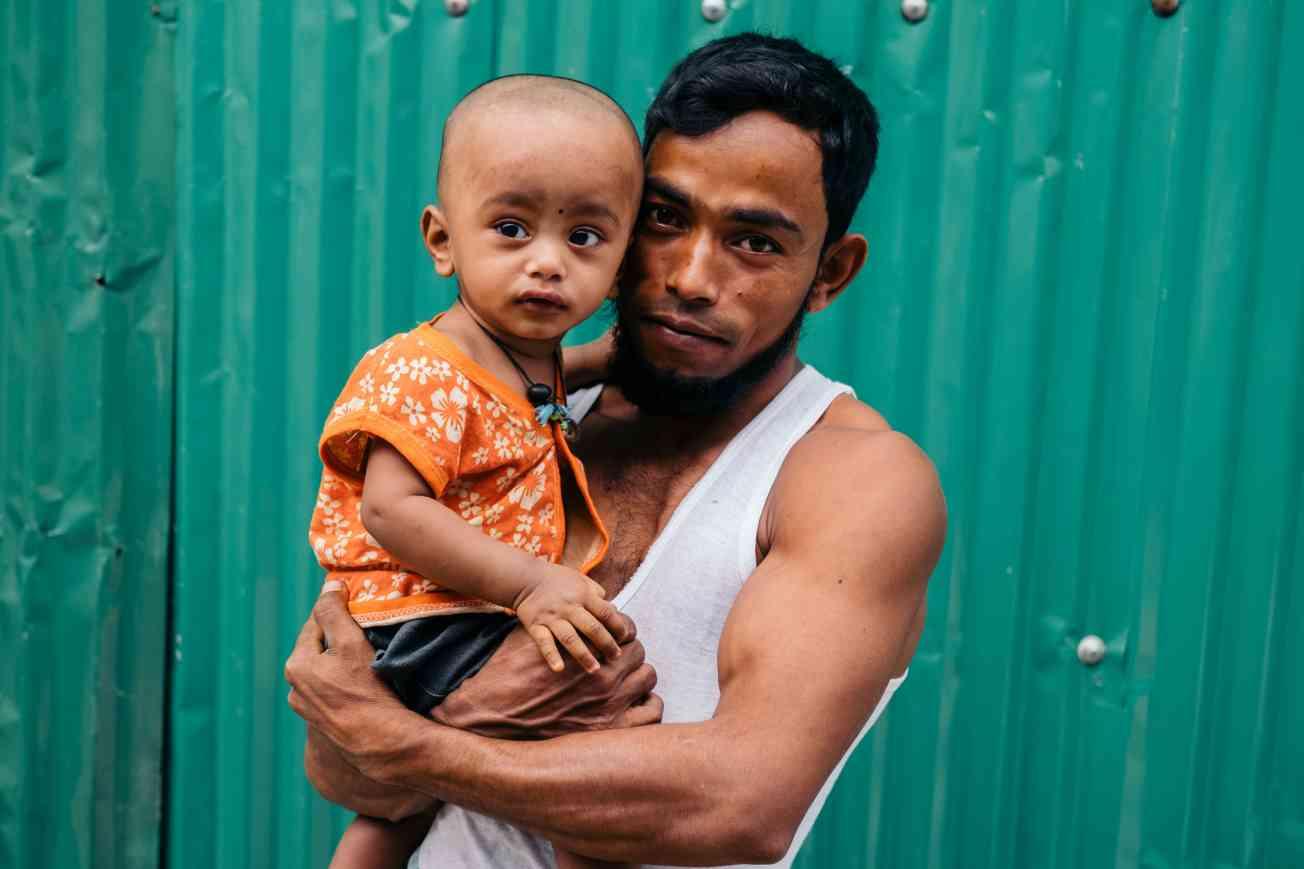 2019 BANGLADESH Portrait of Rohingya Refugee Christophe Mortier 2