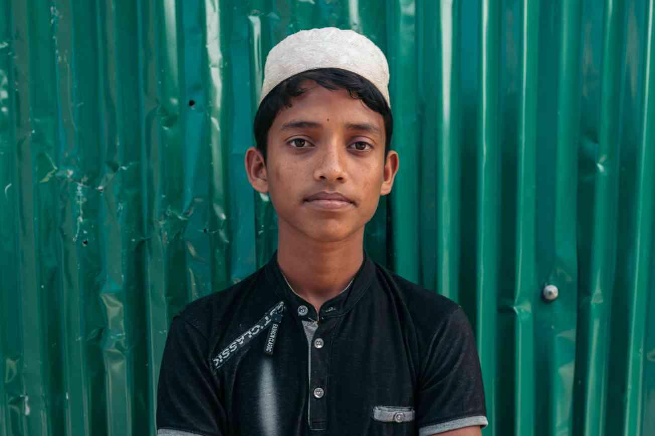 2019 BANGLADESH Portrait of Rohingya Refugee Christophe Mortier 20