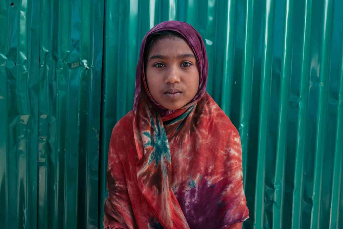 2019 BANGLADESH Portrait of Rohingya Refugee Christophe Mortier 26