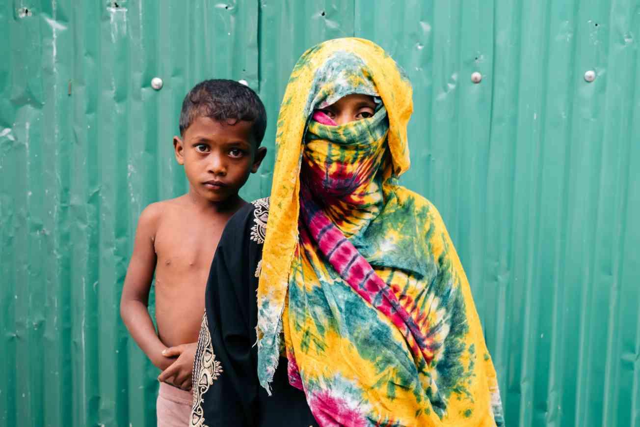 2019 BANGLADESH Portrait of Rohingya Refugee Christophe Mortier 3