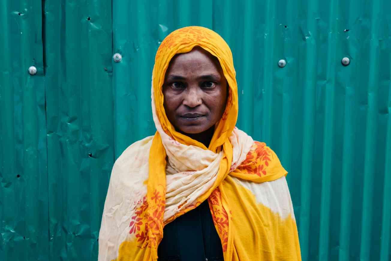2019 BANGLADESH Portrait of Rohingya Refugee Christophe Mortier 8