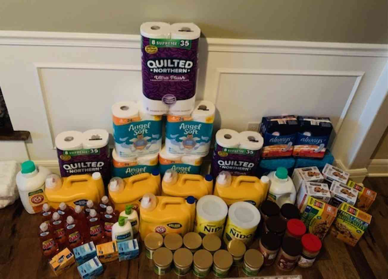 KC Cleaning supplies collection
