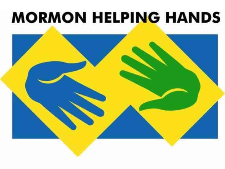 Mormon Hands Logo