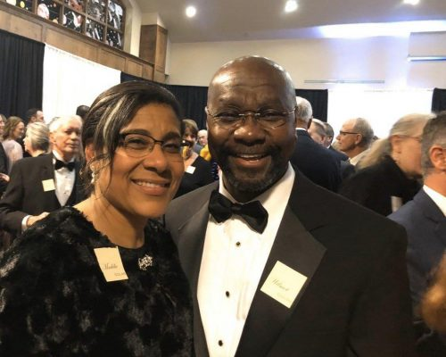 Maddie and Wilmot Collins - Mayor