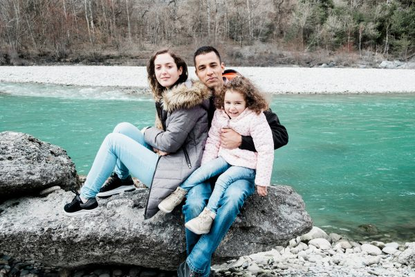 Hamed, an Afghan currently living in Switzerland
