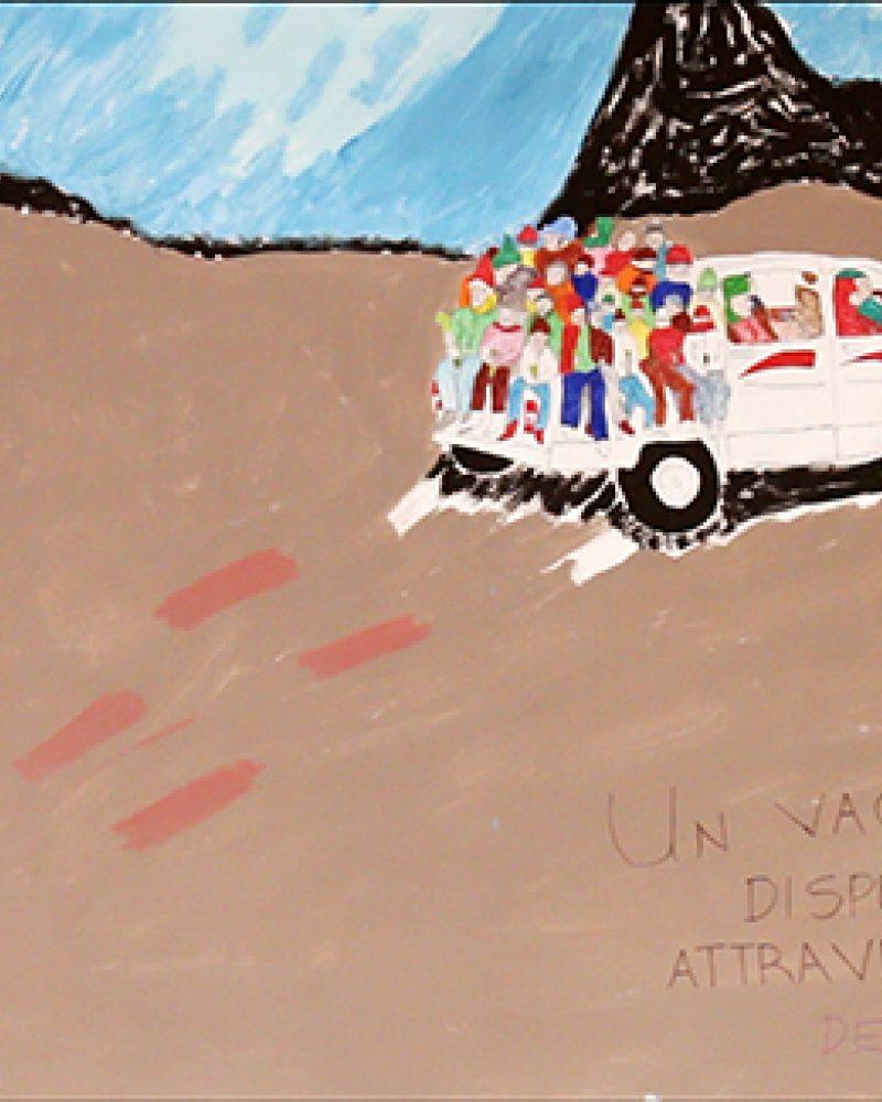 A Desperate Voyage Through the Sahara Desert