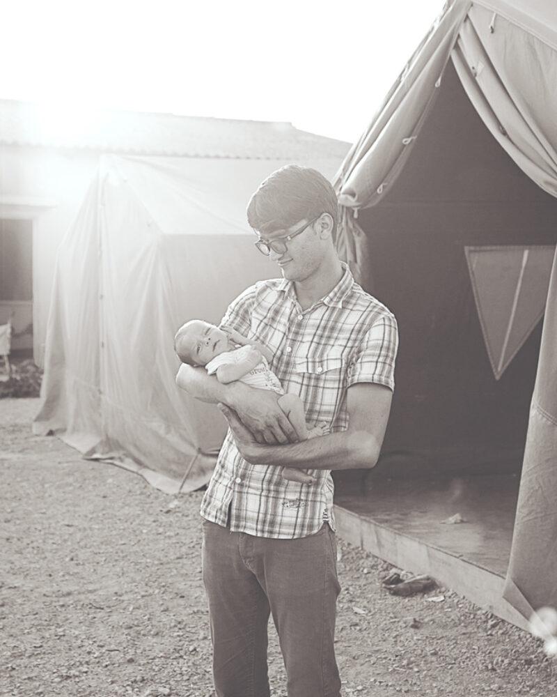 Ahmad and his child