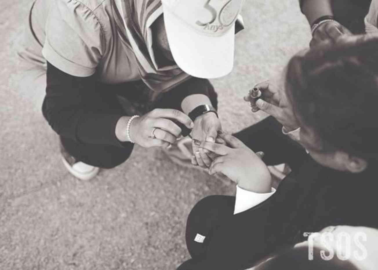 Mosumas Daughters Painting Fingernails