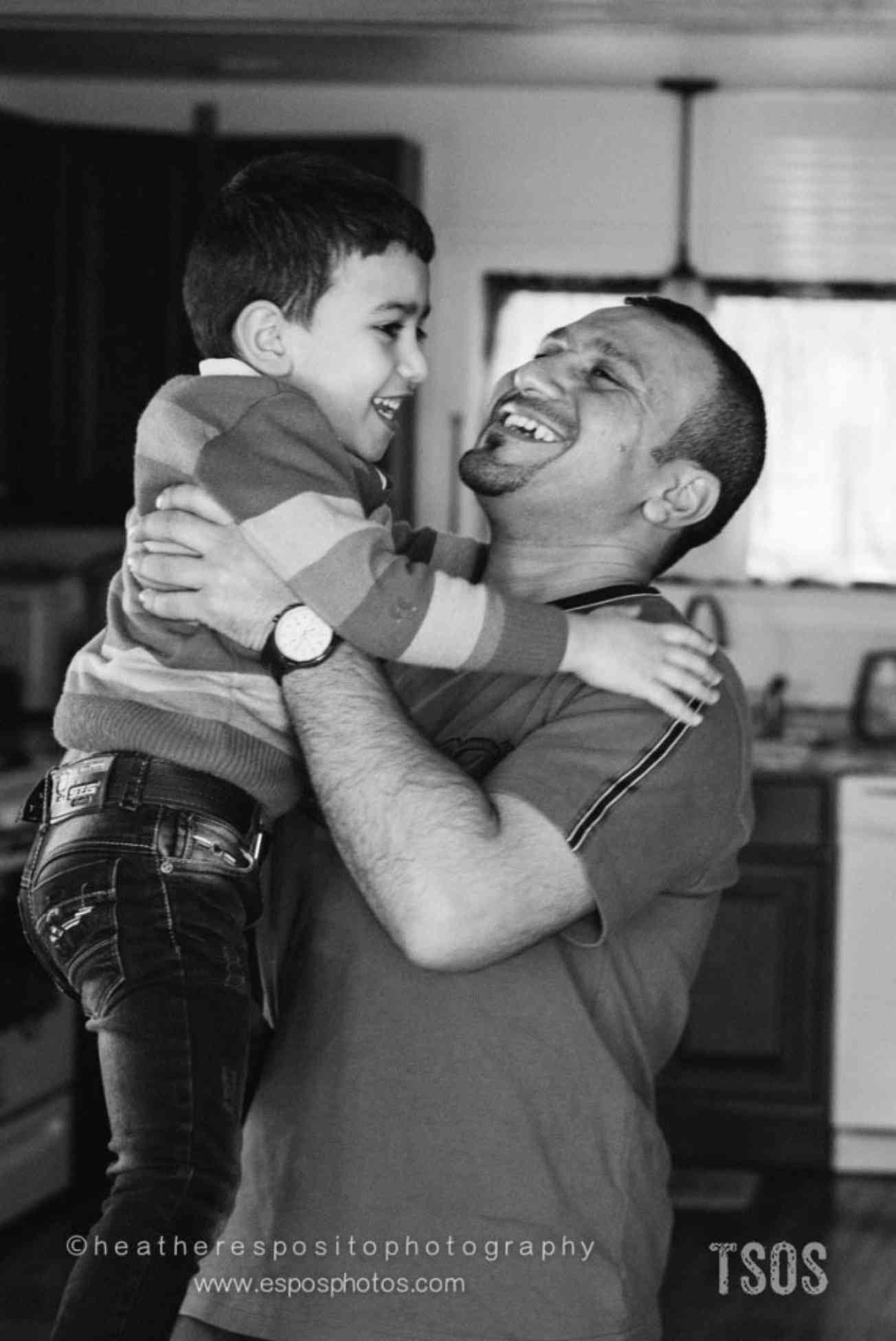 Mohammad and his father