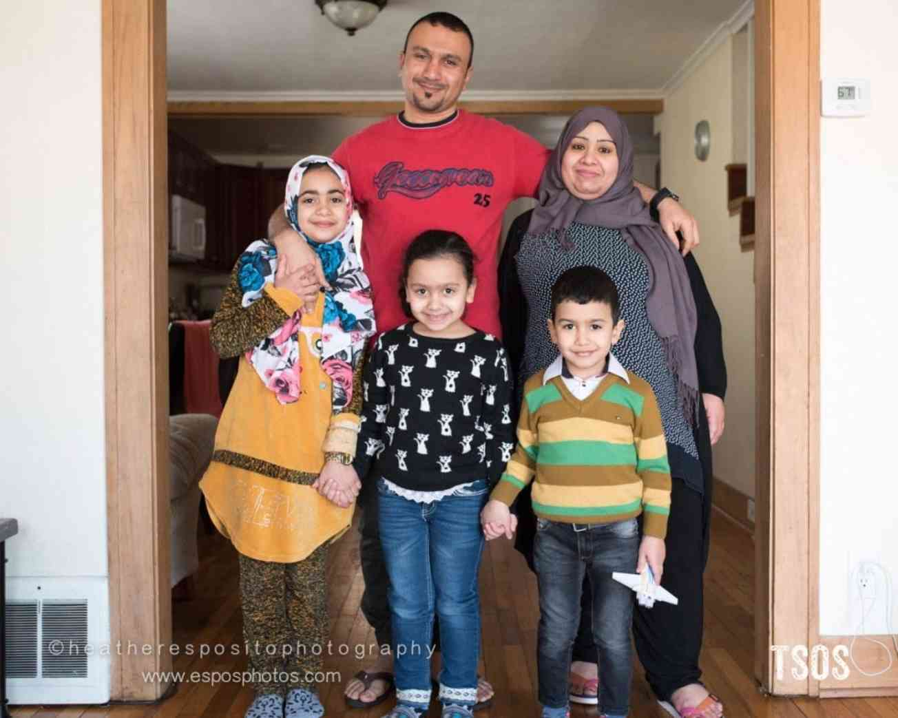 Mohammad and his family