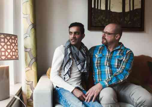 Nabi (from Afghanistan) and Ralph